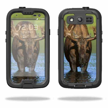 100% authentic c9fcc 1ba1c Mightyskins Protective Vinyl Skin Decal Cover for LifeProof Samsung Galaxy  S III S3 Case fre wrap sticker skins Moose