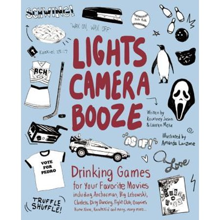 Lights Camera Booze : Drinking Games for Your Favorite Movies Including Anchorman, Big Lebowski, Clueless, Dirty Dancing, Fight Club, Goonies, Home Alone, Karate Kid and Many, Many More - Chunk From The Goonies