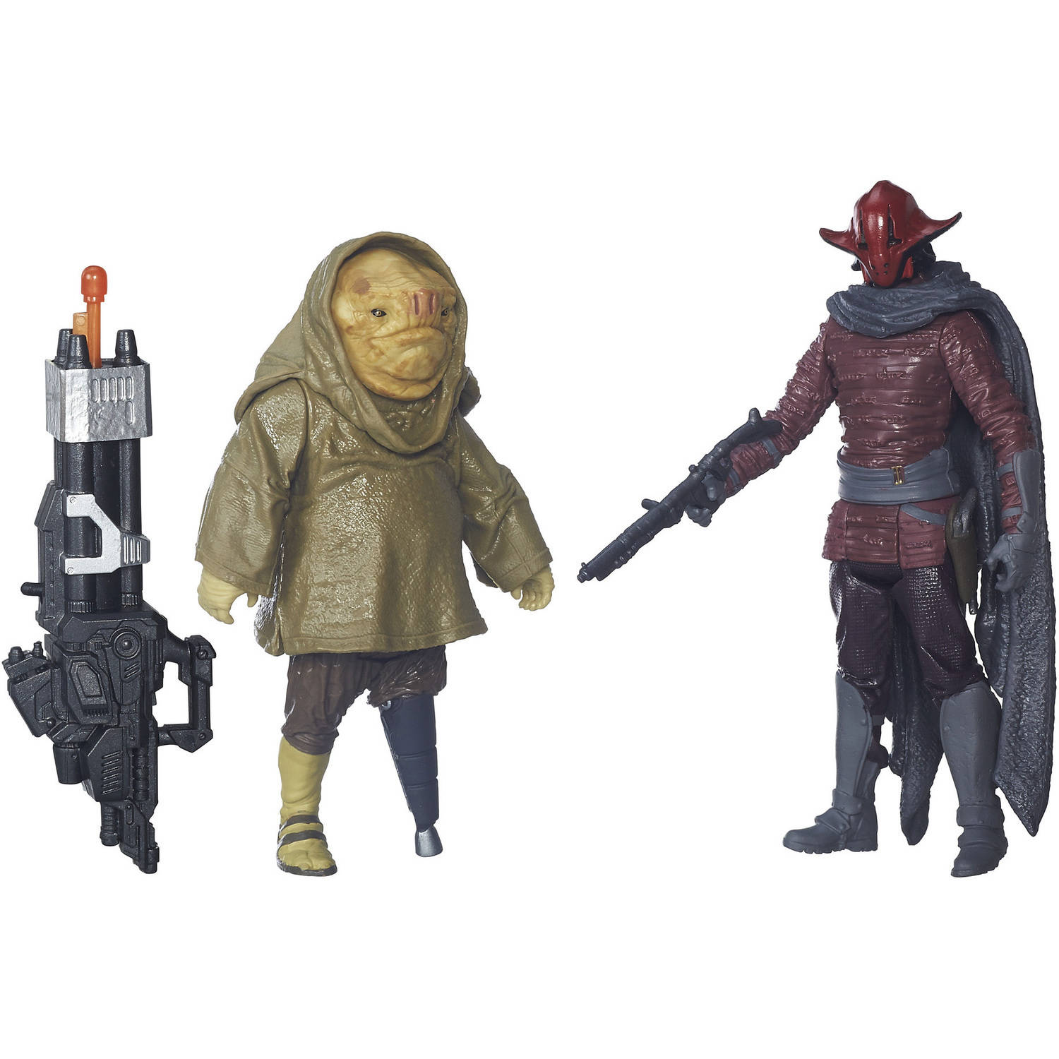"Star Wars: The Force Awakens 3.75"" 2-Pack Sidon Ithano and First Mate Quiggold"
