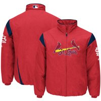 St. Louis Cardinals Majestic On-Field Therma Base Thermal Full-Zip Jacket - Red