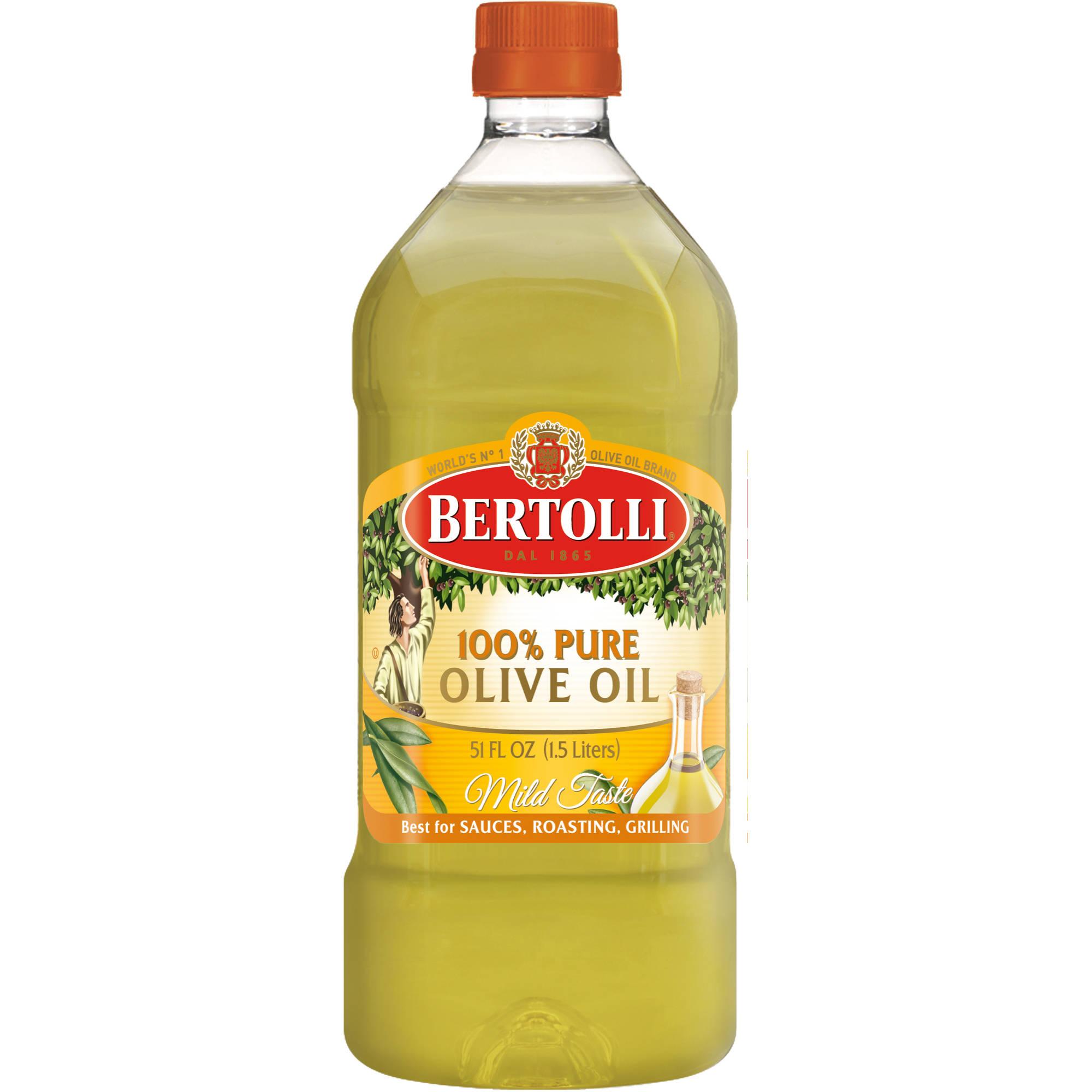 Bertolli Oil: Classico 100% Pure Full Bodied & Mild Olive Oil, 51 Oz
