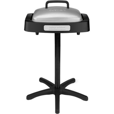 cuisinart grid 180sa1 indoor outdoor grill black silver. Black Bedroom Furniture Sets. Home Design Ideas