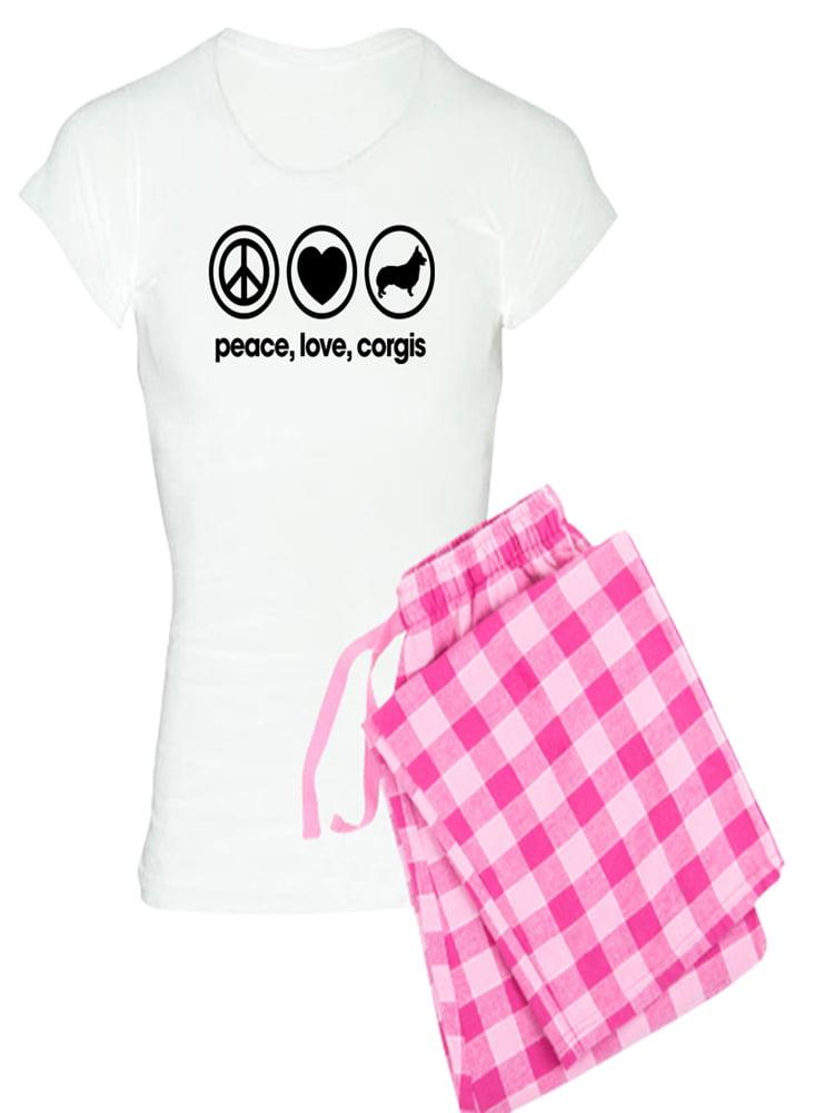CafePress Corgi Mens Light Pajamas Pajama Set