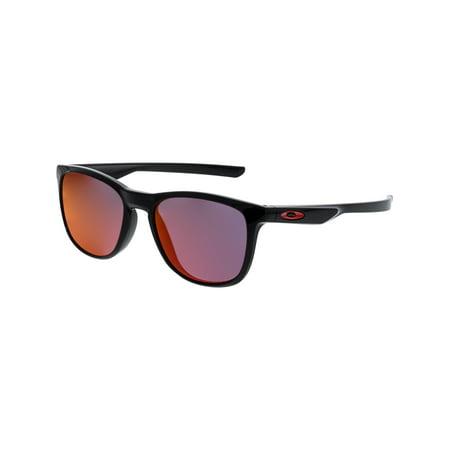 Oakley Mirrored Trillbe X OO9340-02 Black Square Sunglasses