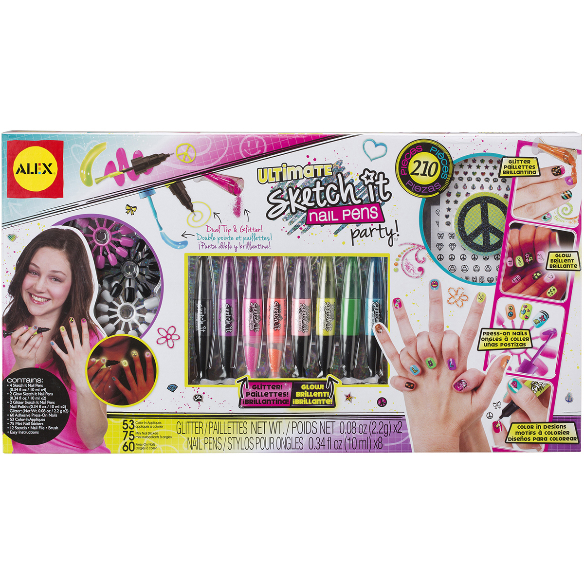ALEX Toys Spa Fun Ultimate Sketch It Nail Pens Party - Walmart.com