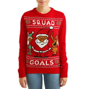 American Stitch Women's Squad Goals Ugly Christmas Sweater