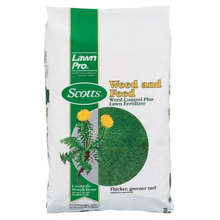 Scotts Lawn Pro Weed & Feed Lawn Fertilizer with Weed Killer