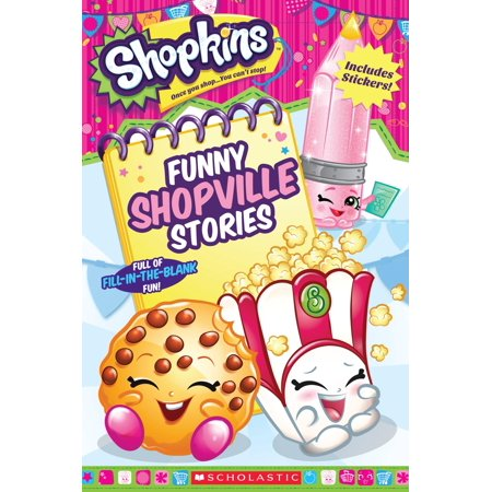 SHOPKINS SILLY STORIES ER - Funny Halloween Personal Stories