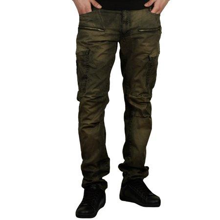 1f67d41dff72 Jordan Craig - Jordan Craig Slim Fit Garment Washed Cargo Pants -  Walmart.com