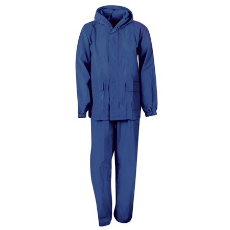 MOSSI YOUTH ADVENTURE RAINSUIT - BLUE M