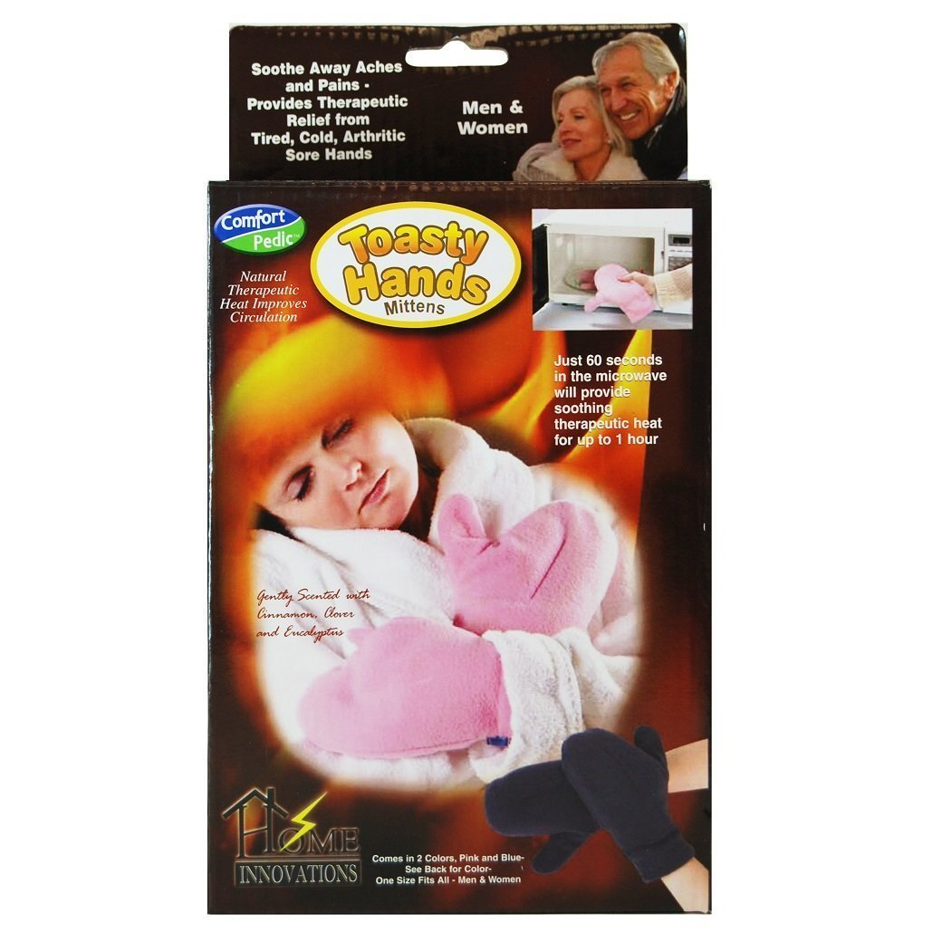 Comfort Pedic Toasty Hands Heated Mittens