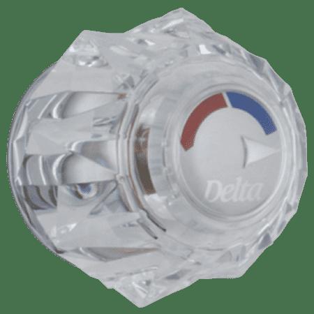 Delta: Clear Knob Handle Kit - Tub & (Shower Knob Handle Kit)