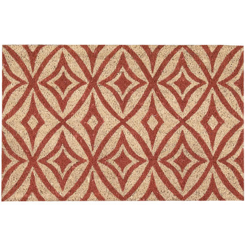 """Waverly Greetings """"Centro"""" Henna Doormat by Nourison"""