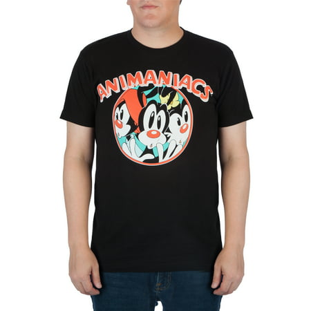 Men's Distressed Animaniacs Graphic Tee