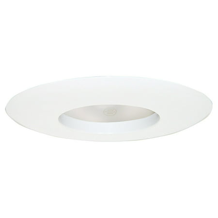 Design House 519538 6-Inch Recessed Lighting Wide Ring Trim, White
