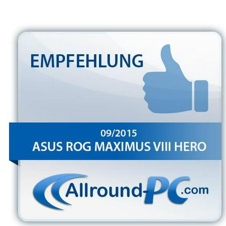 Refurbished ASUS ROG MAXIMUS VIII HERO LGA1151 DDR4 M 2 SATA