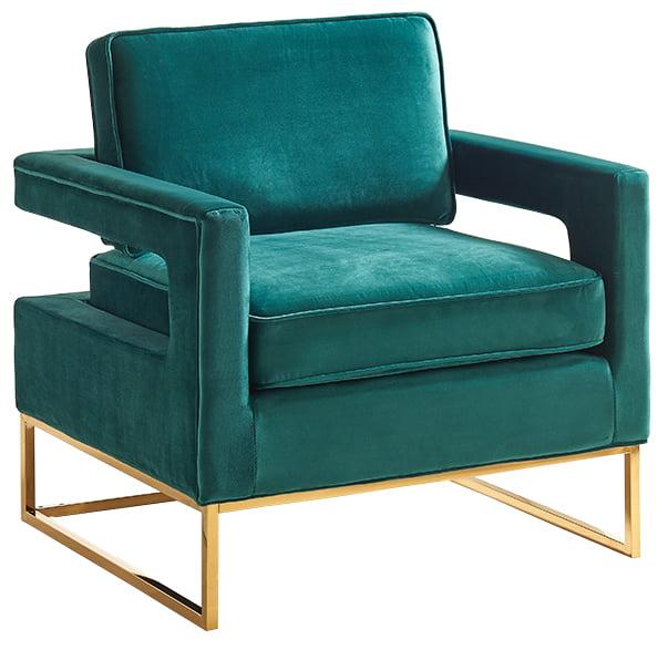 Meridian Furniture Inc Noah Velvet Accent Chair