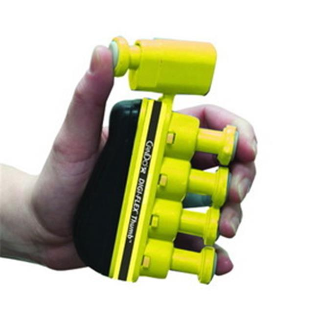 Fabrication Enterprises 10-3761 Digi-Flex Thumb, Yellow