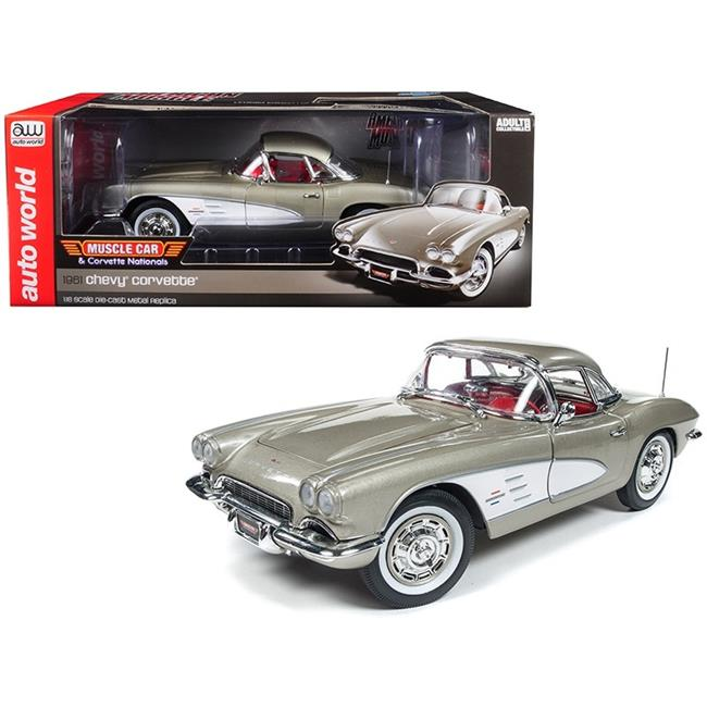 1961 Chevrolet Corvette Hard Top Fawn Beige (MCACN