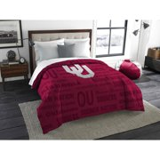 NCAA Oklahoma Sooners Anthem Twin or Full Bedding Comforter, 1 Each