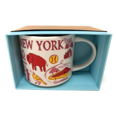 Starbucks Been There Series Collection New York Coffee Mug New With - Halloween Coffee Mugs Starbucks