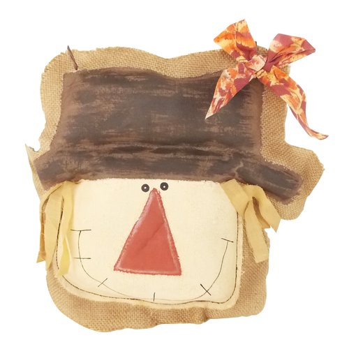 Craft Outlet Fabric Hanging Scarecrow