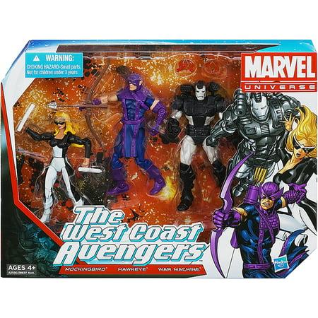 Marvel Super Hero Team Packs The West Coast Avengers Action Figure Set