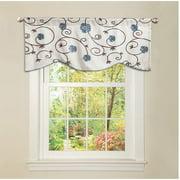 Royal Garden Blue Curtain Valance
