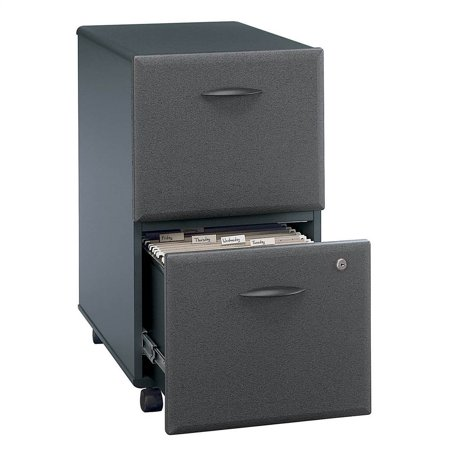 Two Drawer File Cabinet w One Gang Lock - Series A