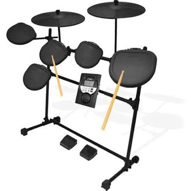 7 Pad Digital Drum Set & Electronic Drum Machine System by SonicBoom
