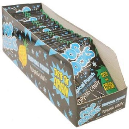 Product Of Pop Rocks, Tropical Punch, Count 24 (0.33 oz) - Sugar Candy / Grab Varieties & Flavors
