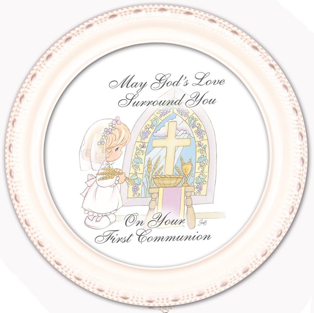 Precious Moments First Communion Keepsake Box Girl RTR7007IC13-13268 by Cottage Garden