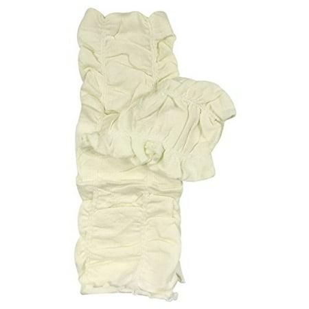 - ALLYDREW Solid Baby Leg Warmer & Solid Toddler Leg Warmer for Boys & Girls, Scrunch White