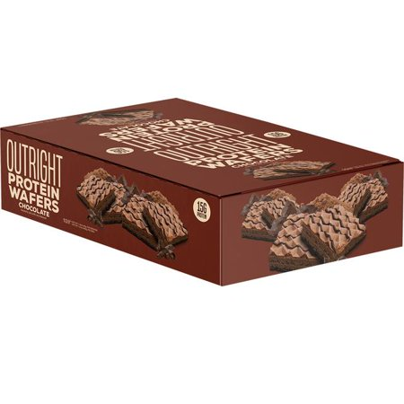 Outright Protein Wafer - Chocolate - 10 Pack Iss Protein Wafer