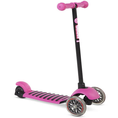 Yvolution Y Glider Deluxe Scooter, Pink 4L