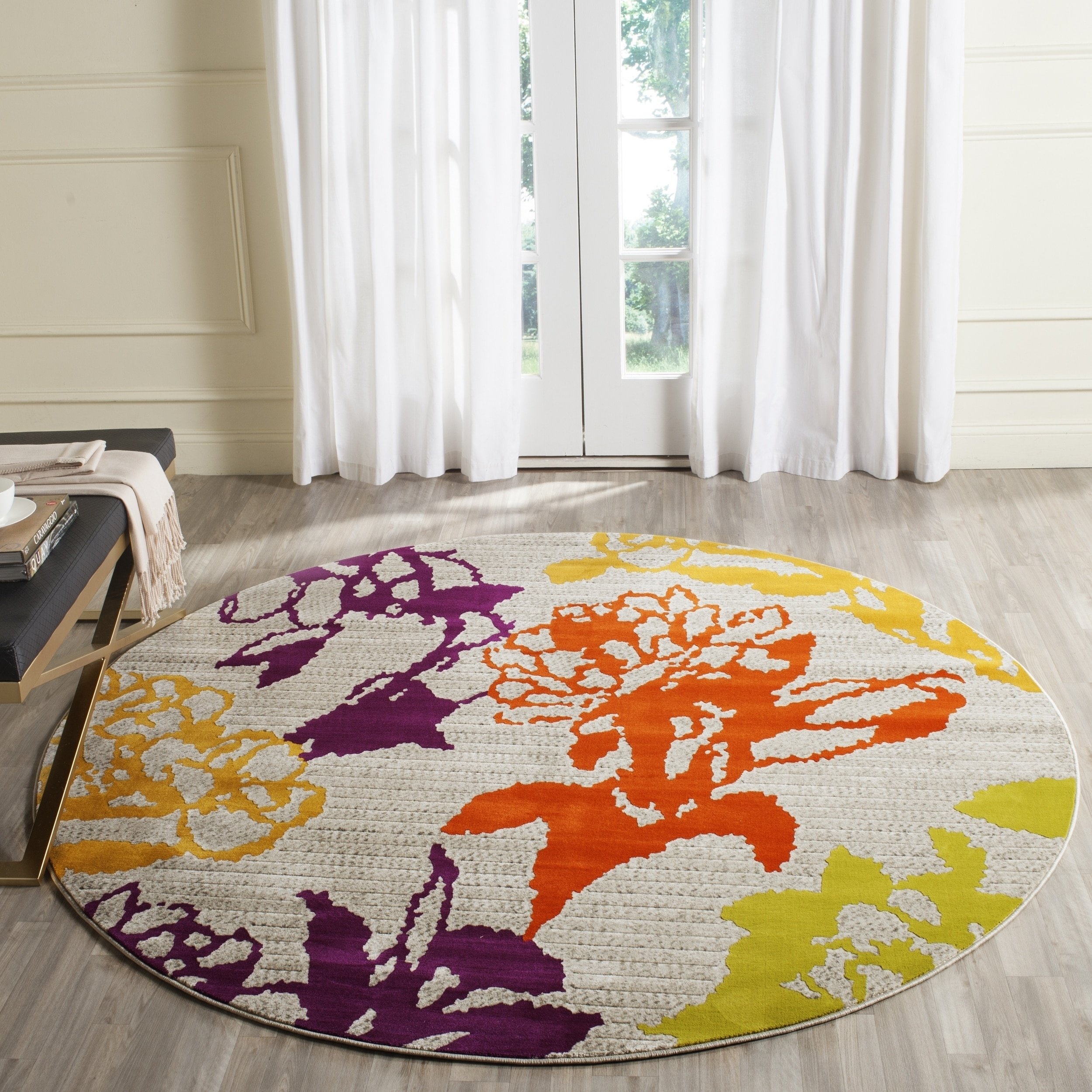 Safavieh Porcello Alban Abstract Floral Area Rug or Runner