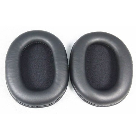 Pixnor A Pair Of Replacement Soft Pu Foam Headphones Ear Pad Ear Cushions For Sony Mdr 7506 Mdr V6 Mdr Cd900st Black