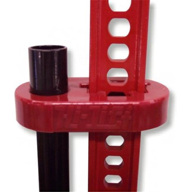 The HiLift Jack Handle Keeper (red) (OFF-ROAD RECOVERY)