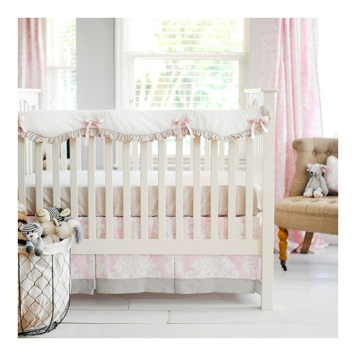 New Arrivals Cross My Heart 2 Piece Crib Bedding Set