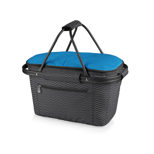 Picnic Time Waves Market Basket Collapsible Tote