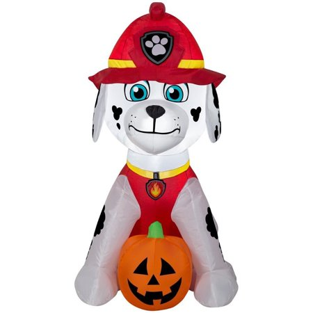 PAW Marshall Jack O Lantern Airblown Halloween Decoration](Halloween Jack O Lantern Tradition)