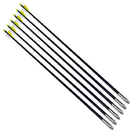 Oliasports Nocks Fletched Fiberglass Arrows,