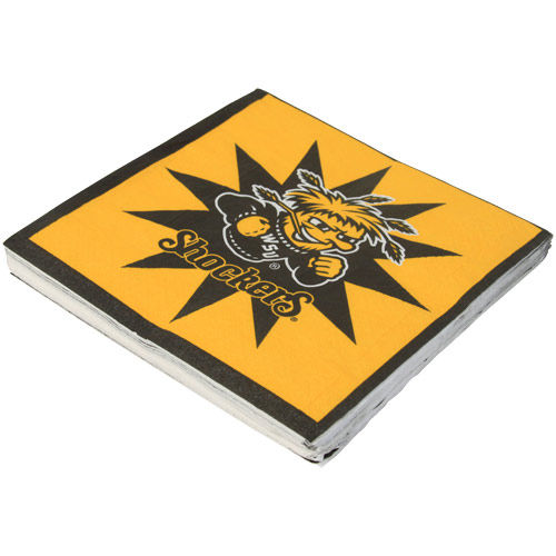Wichita State Shockers 16-Count Luncheon Napkins