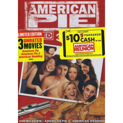 American Pie Unrated 3-Movie Party Pack: American Pie / American Pie 2 / American Wedding (Anamorphic Widescreen)