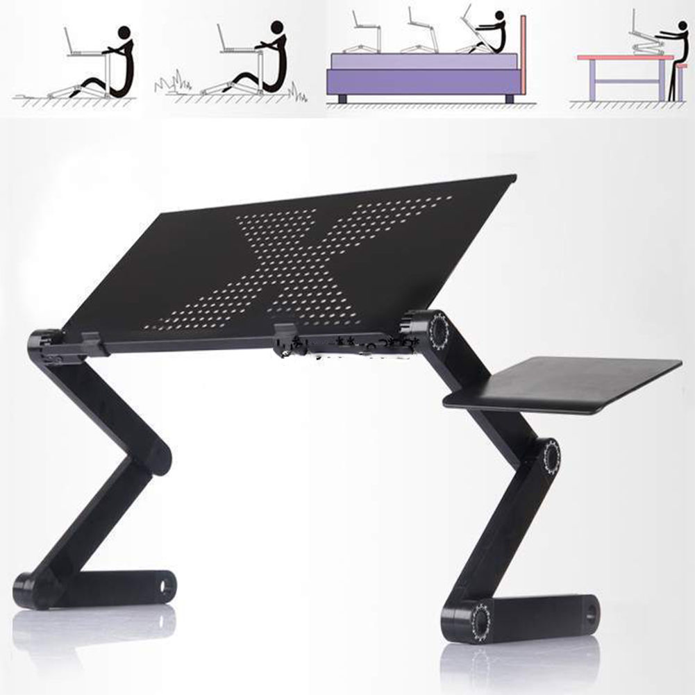 Laptop Desk Laptop Desk for Lap Ergonomic Mini Foldable Computer Desk Table N Type Stand Portable Sofa Bed Tray