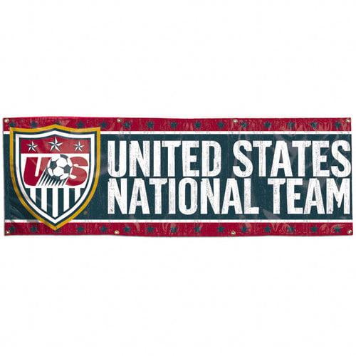 United States National Team Soccer 2x6 Vinyl Banner