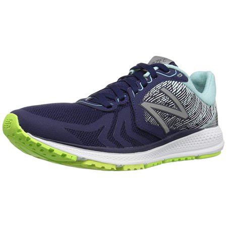 New Balance Women's Vazee Pacev2 Running Shoe, Dark Denim/Lime Glow, 5 B (Best Glow In The Dark Sneakers)