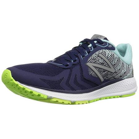 New Balance Women's Vazee Pacev2 Running Shoe, Dark Denim/Lime Glow, 5.5 B (Best Glow In The Dark Sneakers)