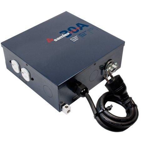 100a Automatic Transfer Switch - Samlex STS-30 Automatic Transfer Switch