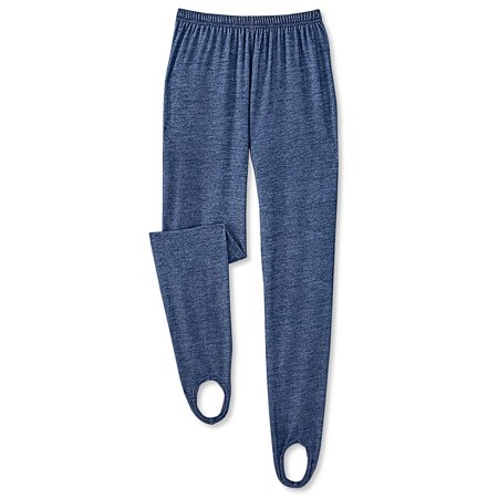Women's Knit Denim Stirrup Pants  - Made in the USA